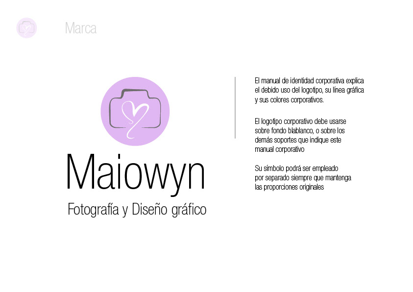 Maual corporativo Maiowyn