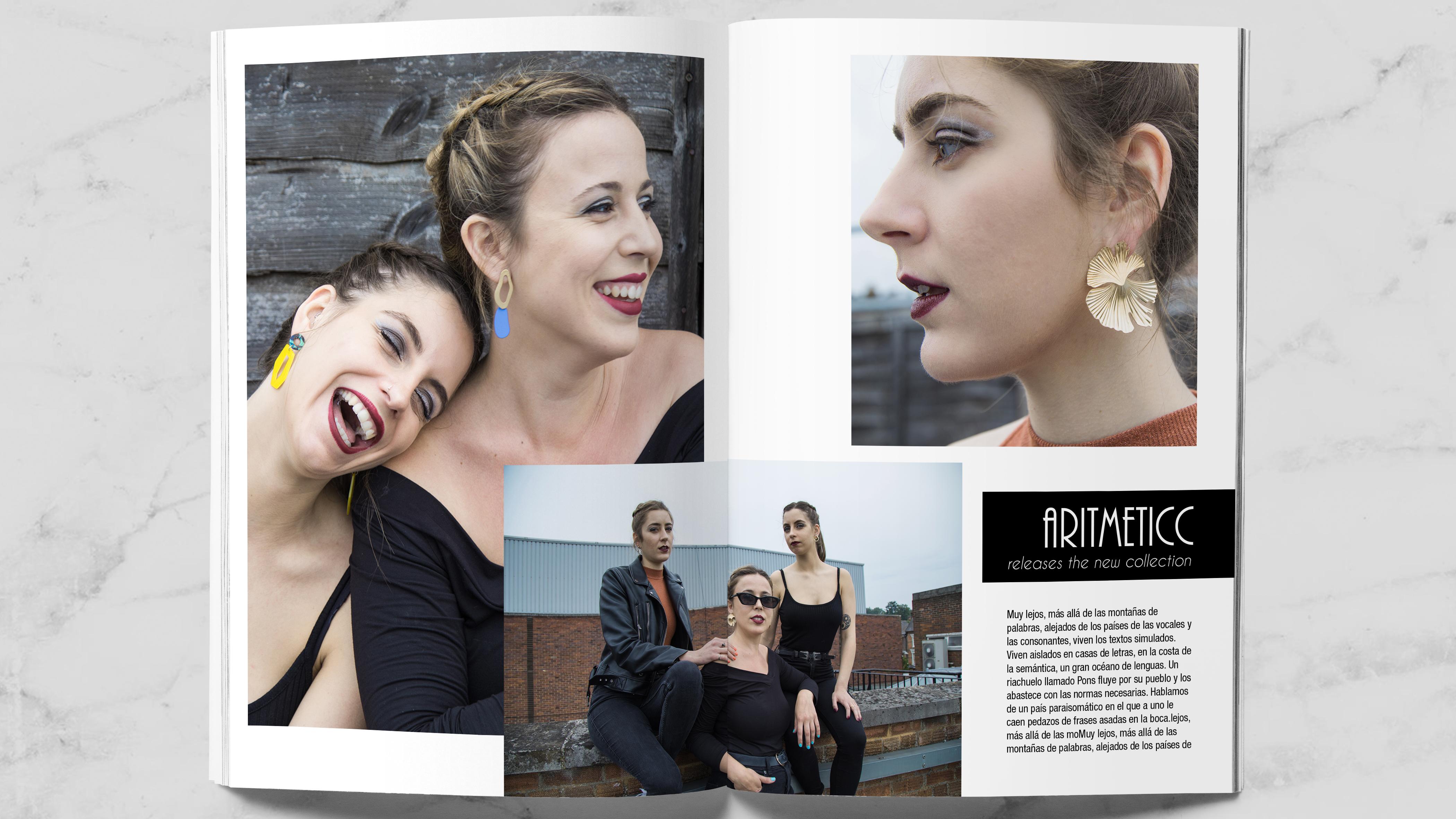 potrfolio revista moda
