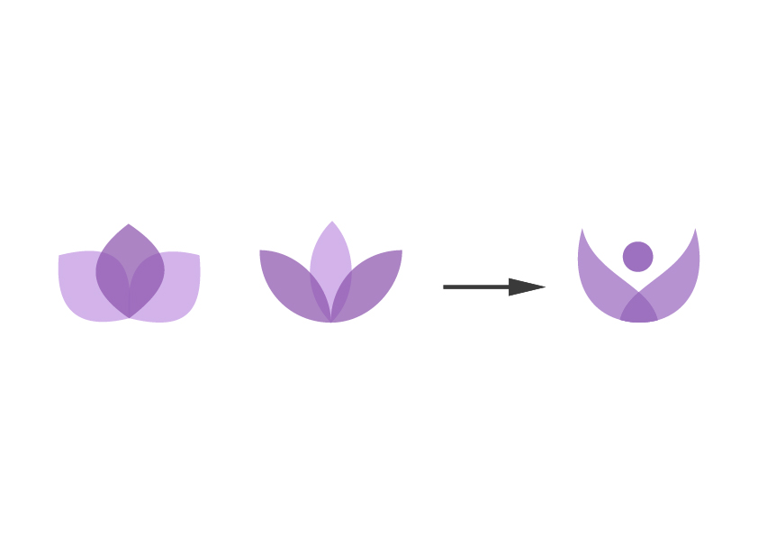 Logotipo psicologia creacion
